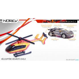 Hélicoptère Sécurité Civile - Norev Emergency