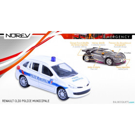 RENAULT Clio Police Municipale - Norev Emergency