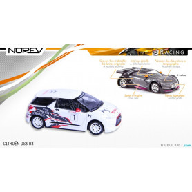 CITROËN DS3 R3 - Norev Racing