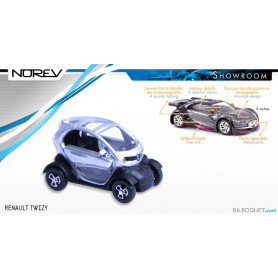 RENAULT Twizy Grise - Norev Showroom