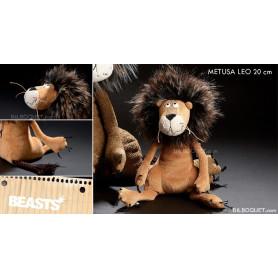 Metusa Leo Petit Lion Peluche Beasts