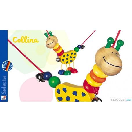 Chaîne de poussette Collina girafe