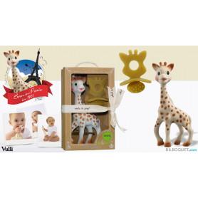 Sophie la girafe® + Anneau/tétine de dentition - Coffret So'Pure
