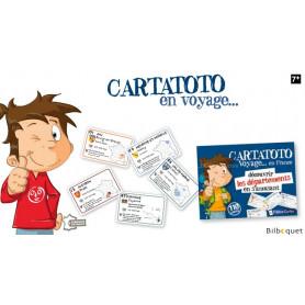 Cartatoto Départements Jeu de cartes pour enfants