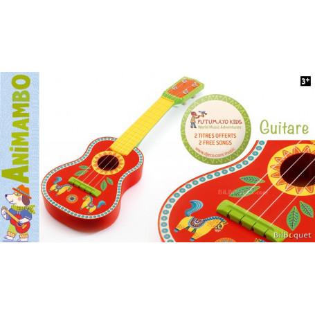 Guitare Animambo - Instrument de musique pour les enfants