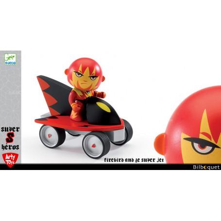 Firebird and Ze super jet - Arty Toys Super héros