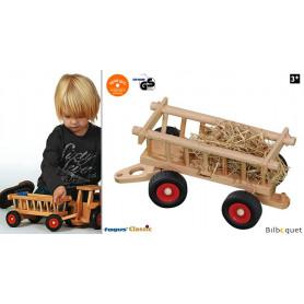 Chariot à foin Jouet en bois