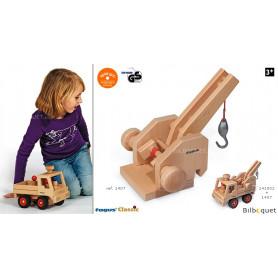 Grue pour le camion Unimog Fagus - Jouet en bois