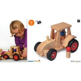 Tracteur moderne Véhicule-jouet en bois