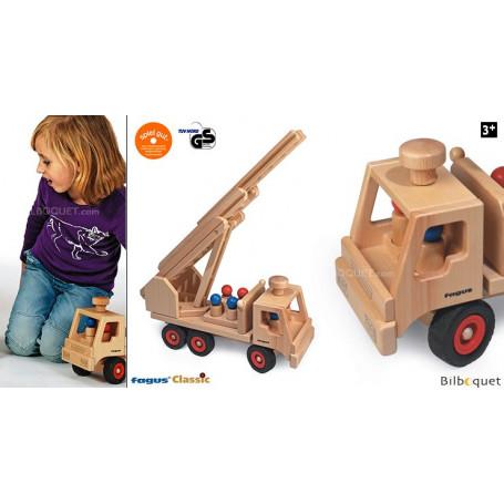 Camion de pompiers Jouet en bois
