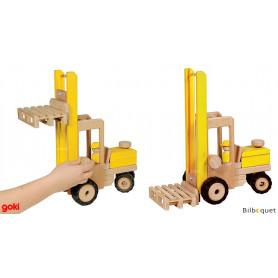 Chariot élévateur - Véhicule en bois