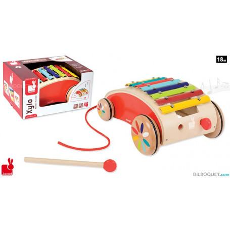 Xylo Roller Tatoo jouet à traîner
