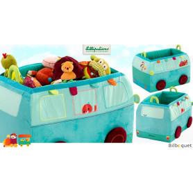 Bus de rangement Jef - Coffre à jouets