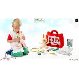 L' ambulance du petit docteur - Jouet d'imitation en textile