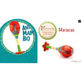 Maracas Animambo - Instrument de musique jouet
