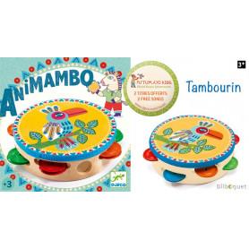 Animambo Tambourin - Instrument de musique pour enfants