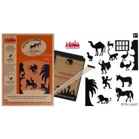 Les contes des animaux - 15 silhouettes pour théâtre d'ombres