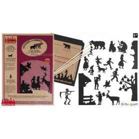 Les contes des hommes - 17 silhouettes pour théâtre d'ombres