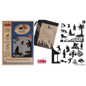 Les contes de la mer - 20 silhouettes pour théâtre d'ombres