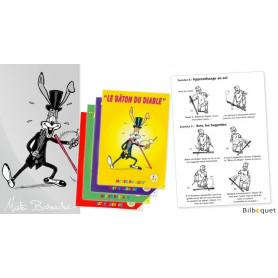 LE BATON DU DIABLE - Livret d'apprentissage jonglerie Mister Babache