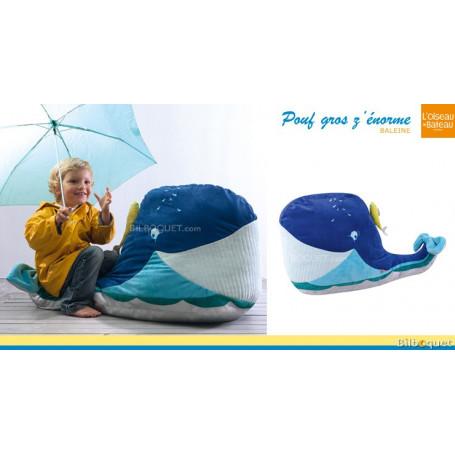 Pouf - Gros Z'énorme Baleine