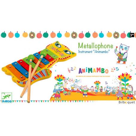 Métallophone - Djeco Animambo