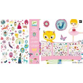 1000 stickers pour les filles