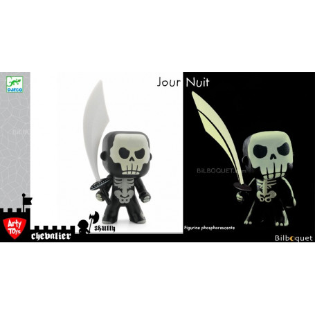 Skully - Phosphorescent - Arty toys chevaliers
