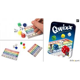 Qwixx Un jeu de dés palpitant