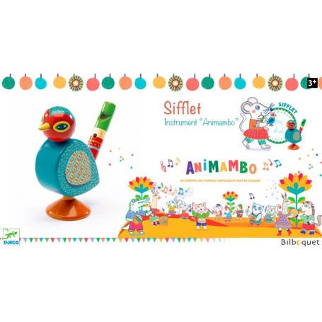 Sifflet oiseau - Jouet musical Animambo