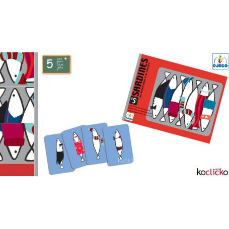 Jeu de cartes Sardines - Mémoire visuelle