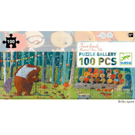 Puzzle Gallery 100 pièces Forest friends