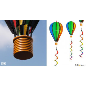 Ballon Satorn Rainbow Twist avec Twister