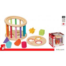 Quizz des formes - Boîte à formes en bois