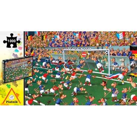 Puzzle 1000 pièces François Ruyer - Le terrain de football