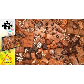 Puzzle 1000 pièces Les chocolats