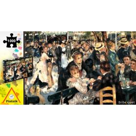 Puzzle 1000 pièces - Renoir - Bal du moulin de la Galette