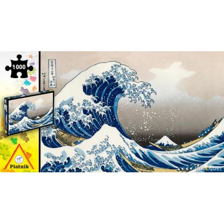 Puzzle La grande vague par Hokusai - 1000 pièces