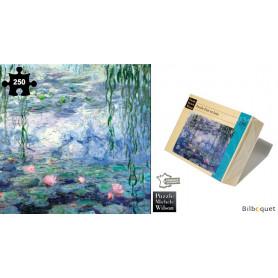 Nymphéas et Saules - Monet - Puzzle d'art en bois 250 pièces