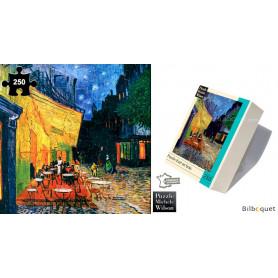 Terrasse du café le soir - Vincent Van Gogh - Puzzle d'art en bois 250 pièces