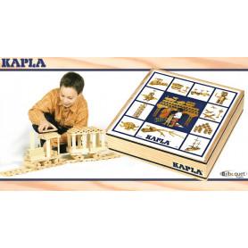 Boîte 100 planchettes Kapla nature