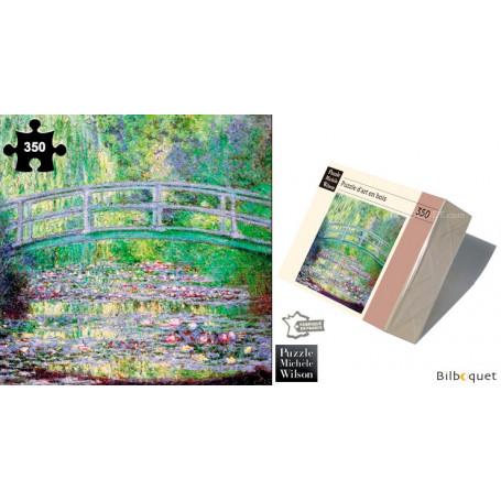 Le pont Japonais - Claude Monet - Puzzle d'art en bois 350 pièces