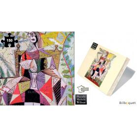 Femme au jardin - Picasso - Puzzle d'art en bois 150 pièces