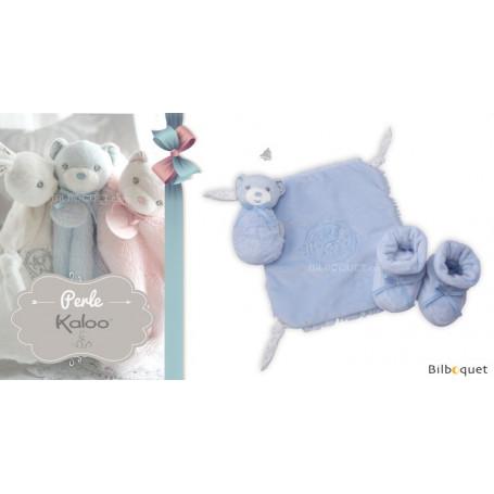 Coffret cadeau bleu 3 pièces - Kaloo Perle