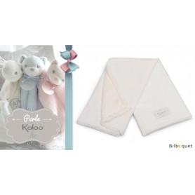 Couverture de poussette crème - Kaloo Perle