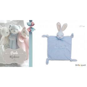 Doudou lapin bleu - Kaloo Perle