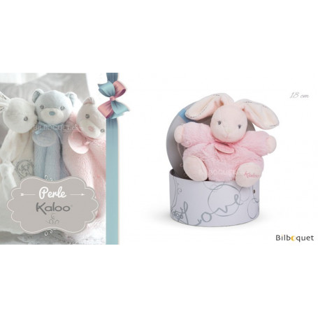 Pt'it lapin rose - Kaloo Perle