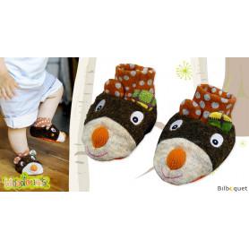 Chaussons de bébé Tizours - Woodours