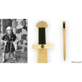 Épée de viking 65cm - Accessoires en bois