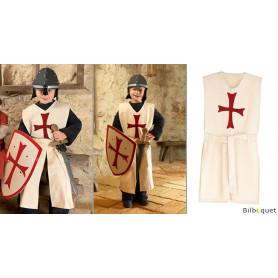 Tunique de chevalier Croisé - Costume 5-12 ans